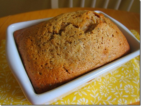 banana bread mini loaf