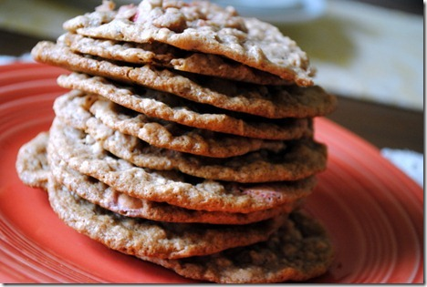 big stack of cookies