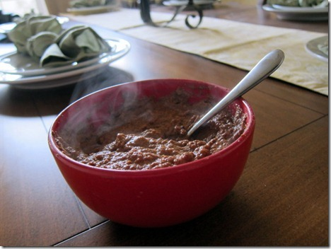chocolate protein oats