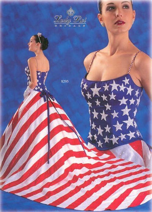 American Flag Dressg Peanut Butter Fingers