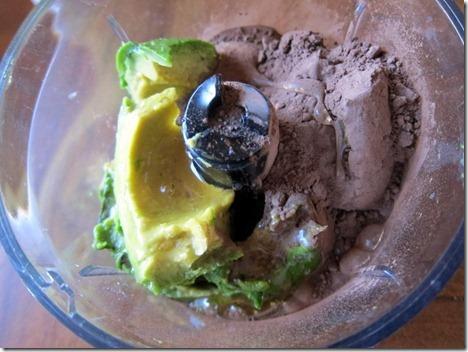 avocado cocoa powder