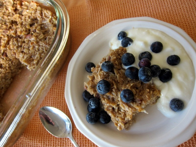 marks two momentous pumpkin banana bread baked baked oatmeal with ...