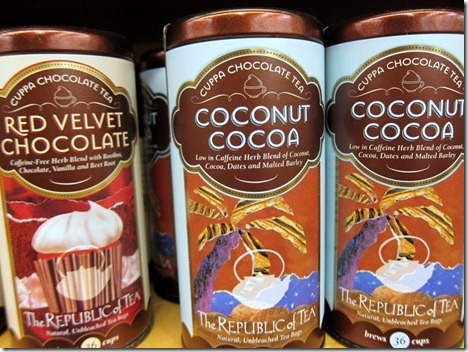 coconut cocoa tea