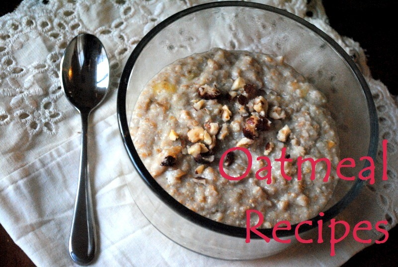 Oatmeal Recipe Ideas