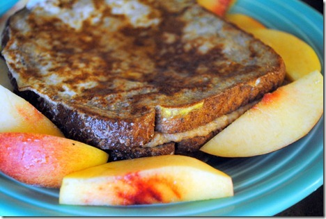Peanut Butter Cream Cheese Stuffed French Toast - Peanut ...
