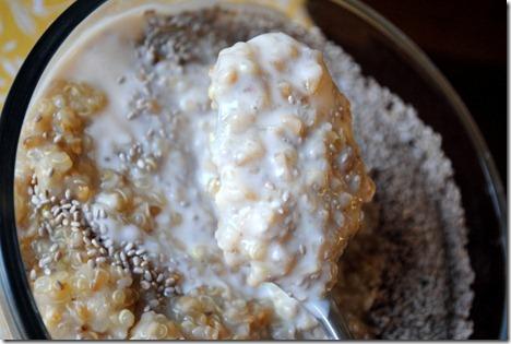 quinoa yogurt oatmeal 013