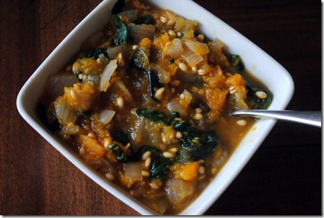 butternut squash wheat berries
