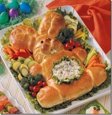 easter bunny bread