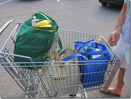 green bags groceries