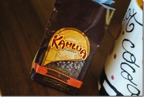 kahlua hazelnut coffee