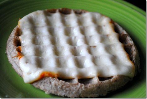 waffle with cheese