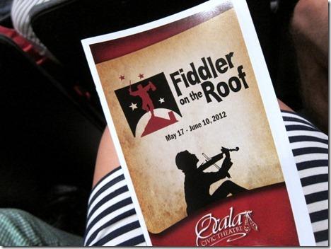 fiddler on the roof ocala