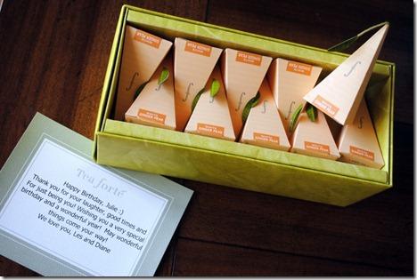 ginger pear tea forte