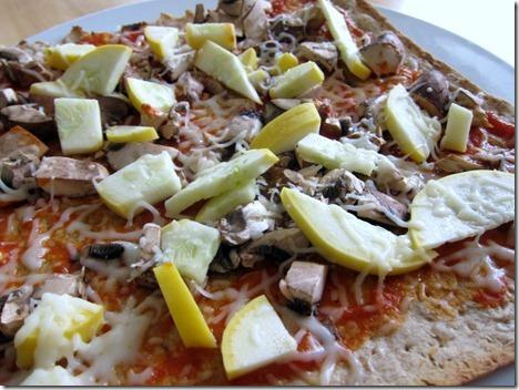 lavash veggie pizza