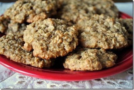 oatmeal banana peanut butter cookies 062-001