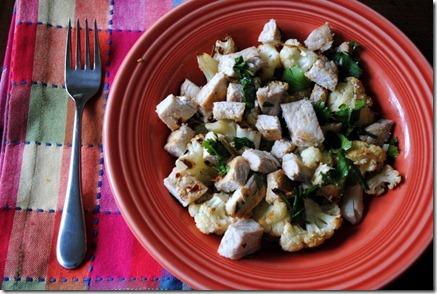 pork cauliflower