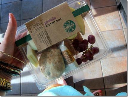 starbucks protein box