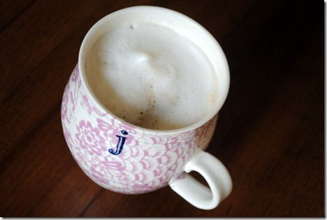 coffee with foam