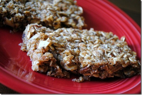 healthy granola bars honey almond hazelnut