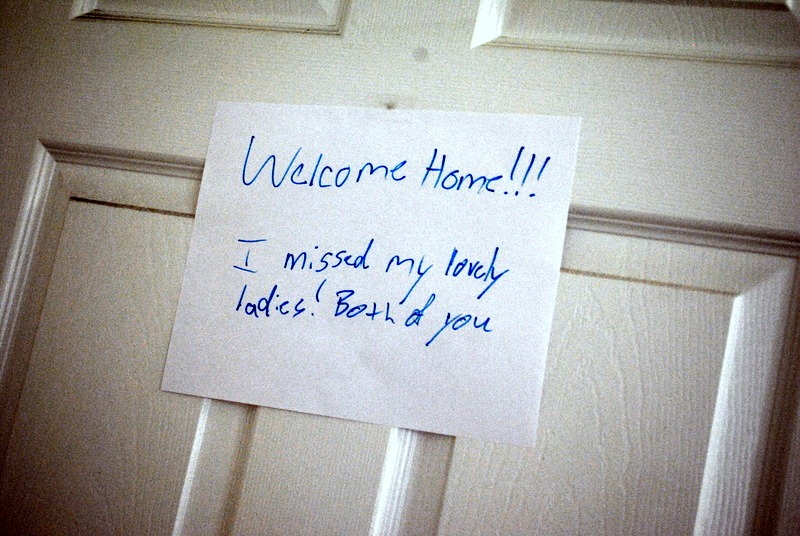 welcome home sign jpg peanut butter fingers