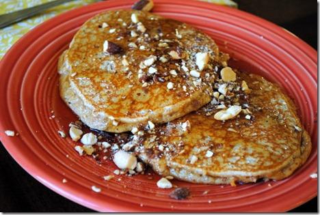 almond butter pancakes 006