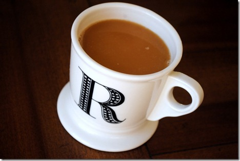 coffee anthropologie mug