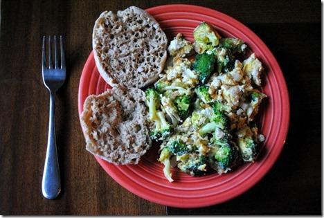 eggs broccoli onion