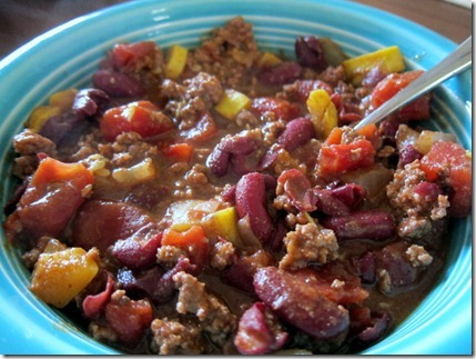 healthy chili beans