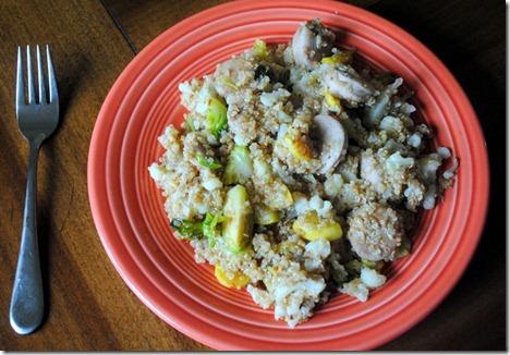 quinoa chicken sausage
