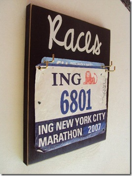 race number display