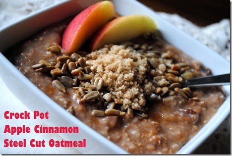 crock pot oatmeal