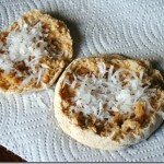 english muffin honey cocont