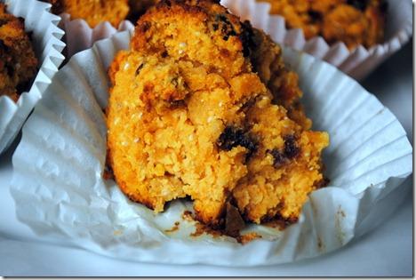 gluten free pumpkin muffins 028