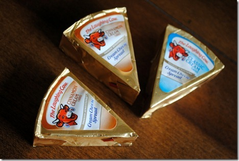 laughing cow cinnamon cheese