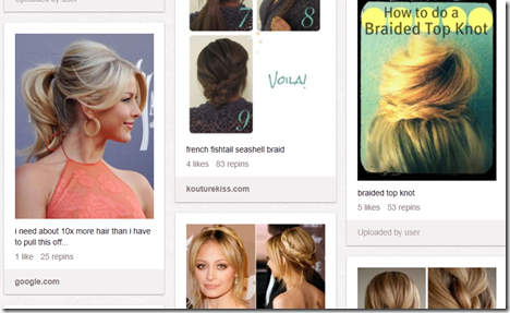 The Black Hole Of Pinterest Hair Peanut Butter Fingers