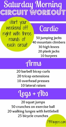 Circuit Workout - Cardio   Arms   Legs   Abs