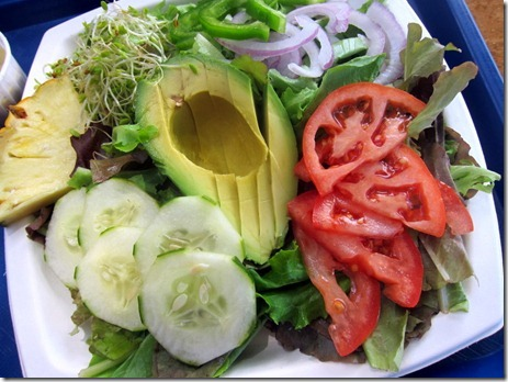 avocado salad kono's