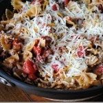 cheese ground beef taco pasta