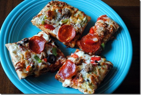 digiorno garlic bread crust pizza