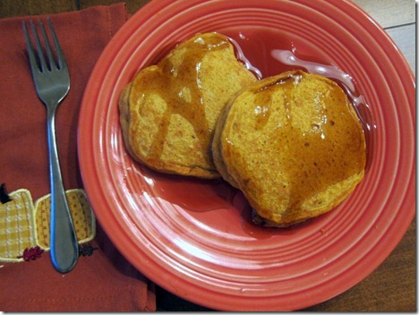 pumpkin pancakes 002