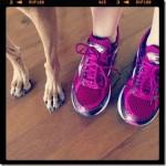 sadie and julie running