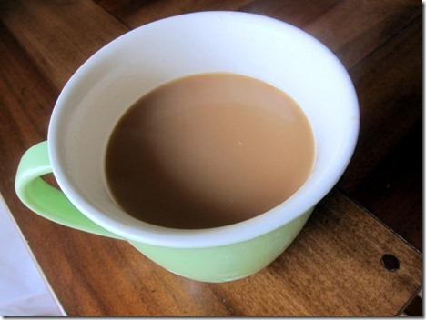 Coffee with Almond Milk