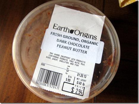 Earth Origins Chocolate Peanut Butter
