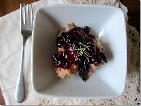 Thai Turkey Meatballs with Blueberry Jam
