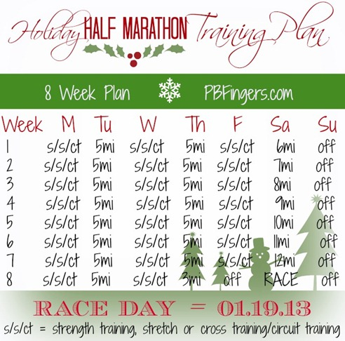 ZOOMA Half Marathon Training Plan