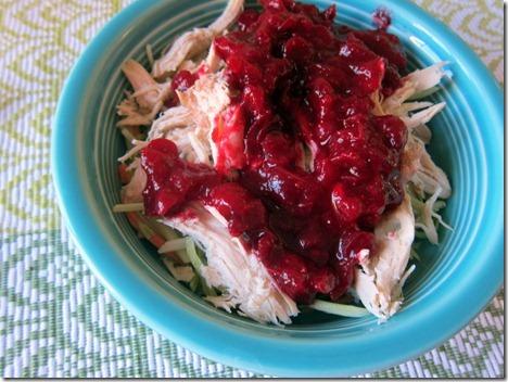 cranberry sauce salad