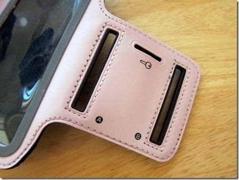 iphone armband pink