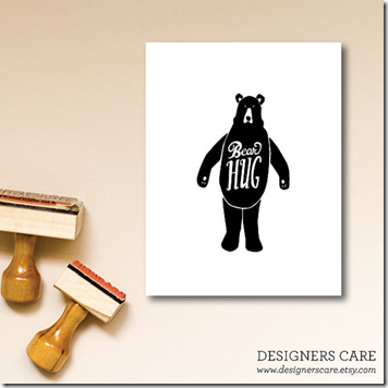 Bear Hug Stationary