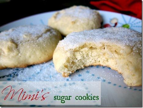 Grandma's Homemeade Sugar Cookies