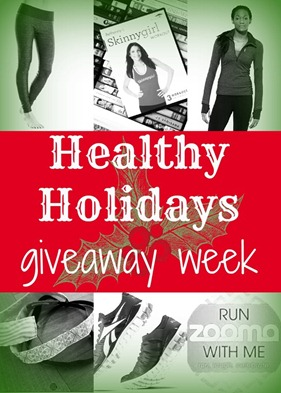 Healthy Holidays Giveaway Week